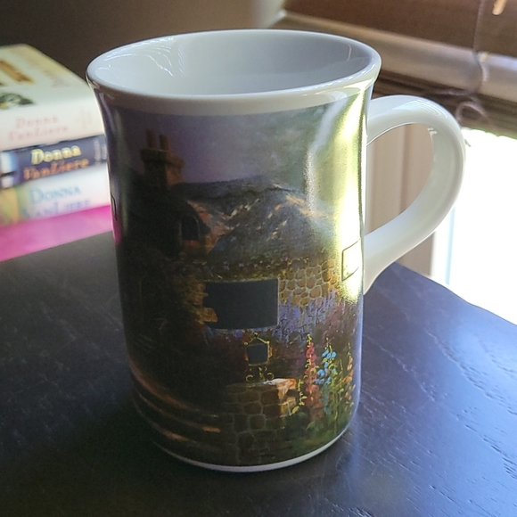 Thomas Kincade Hollyhock House Cofee Mug